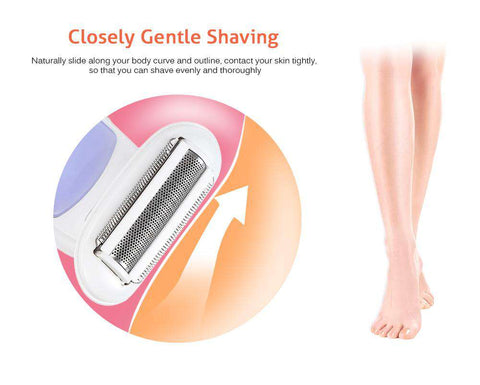 Lady Body Electric Shaver Hair Removal Rechargeable Epilator gallery 9
