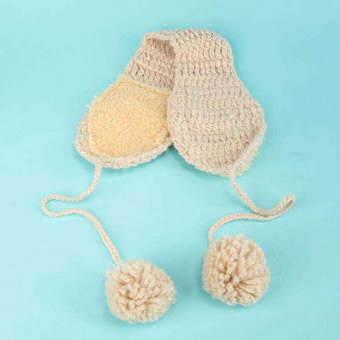 Women's Winter Cute Knitted Thick Ear Hat gallery 4