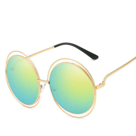 Ombre Double Frame Hollowed Sunglasses gallery 10