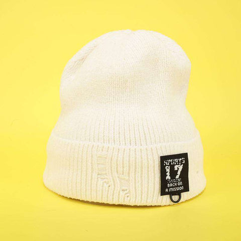 Harajuku Style Winter Thick knitted Woolen Hat for Men and Women gallery 8