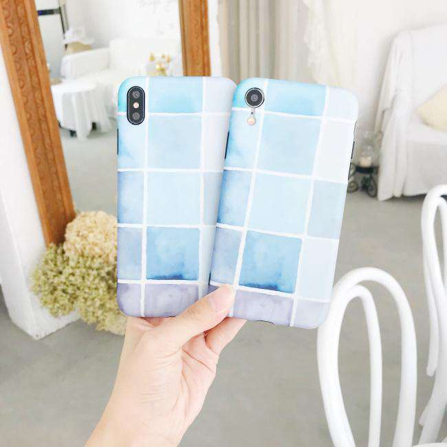 Simple Color Matching iPhone Case