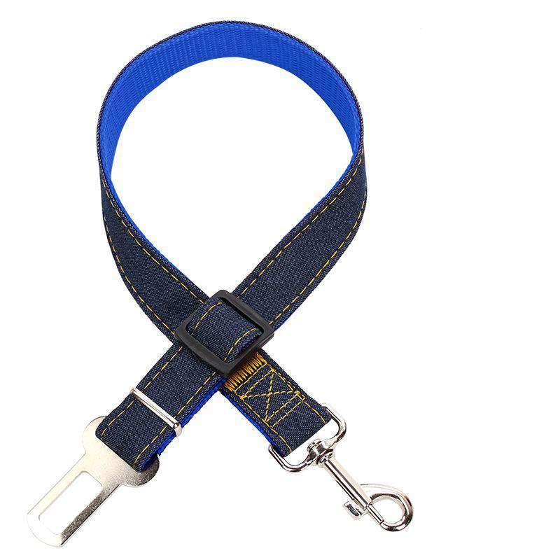 Pet Use Car Safety Dog Belt Nylon And Jean Available With Many Colors
