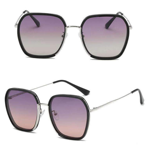 Classic Design Polarized With Wire Side Sunglasses gallery 3