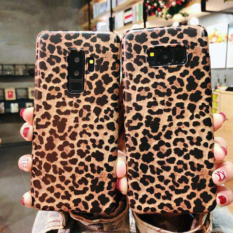 Retro Leopard Phone Case for Samsung gallery 2