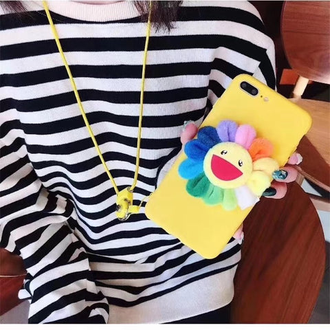 Yellow Laugh Sunflower Phone Case For Samsung gallery 4