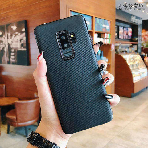 Textured Plain Phone Case for Samsung gallery 7