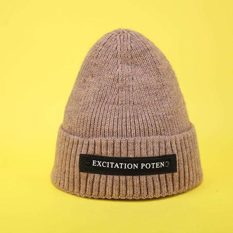 Monogrammed Thick Knitted Woolen Hat for Men and Women gallery 11