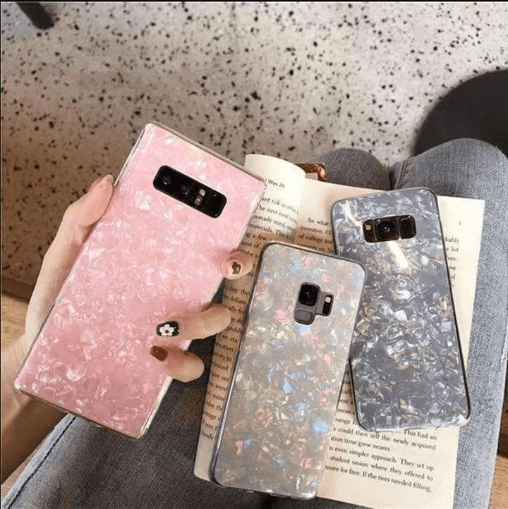 Literary Shell Pattern Phone Case for Samsung