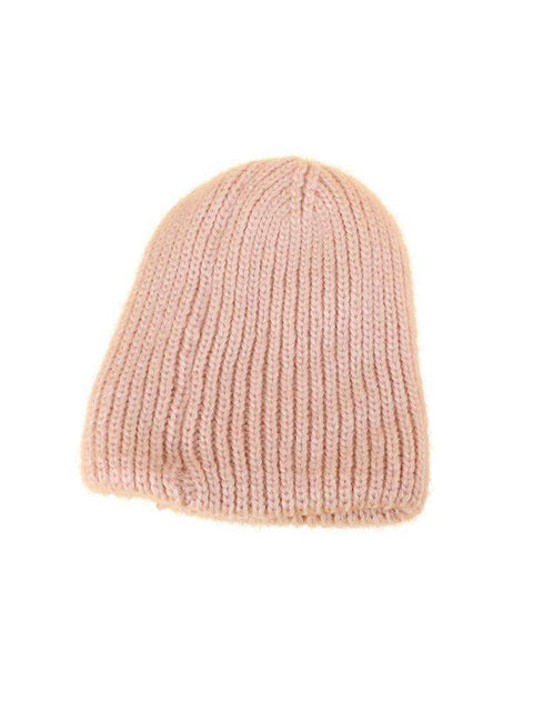 Candy Color Hand-knitted Simple and Thickened Hat gallery 9