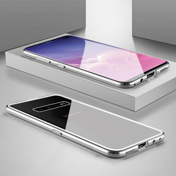 Ultra Slim Magnet Protective Phone Case For Samsung with Metal Frame gallery 13