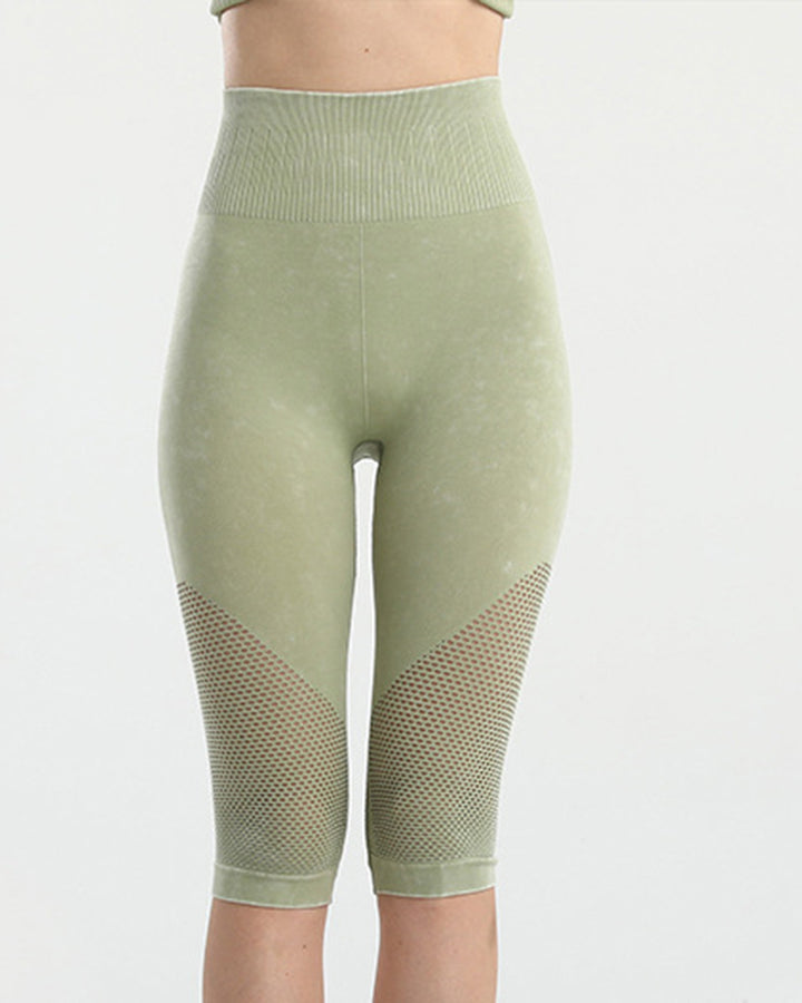 Fishnet Wide Waist Band Sports Shorts gallery 3