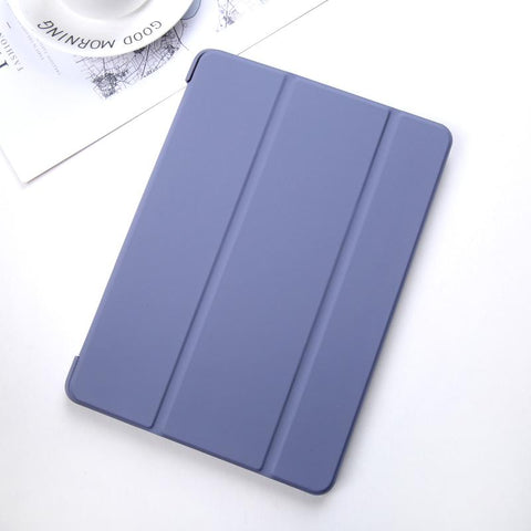 Pure Color Foldable iPad Cover Case gallery 5