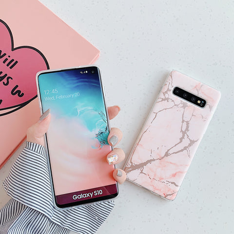 Matte Sand Marble Phone Case for Samsung gallery 5