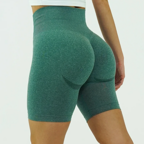 Flaming Deal - Beauty Contour Wide Waistband Sports Shorts gallery 2