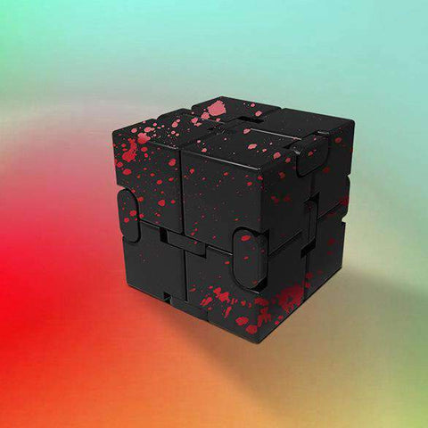 Colored Decompression Fidget Infinity Cube gallery 9