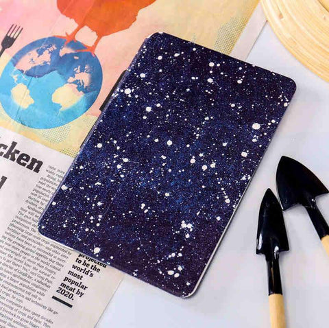 Artistic Starry Sky Waves Painted Apple iPad Cover Case gallery 1
