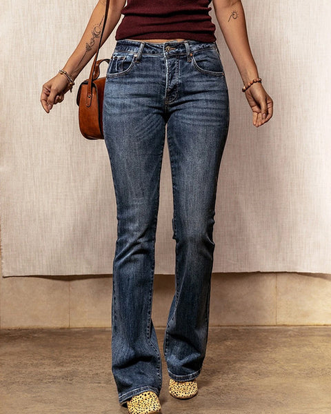 Vintage Butt Lifting Flare Jeans