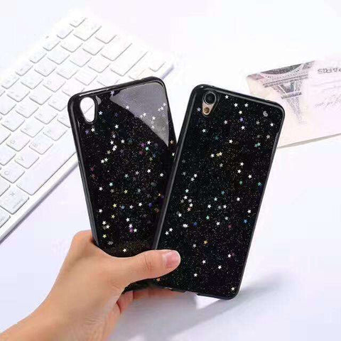 Silicone Starry Sky Phone Case for Samsung gallery 5