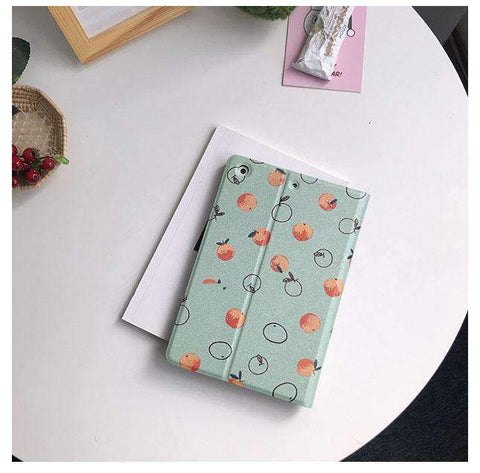 Contracted Orange Pattern Apple iPad Cover Case gallery 1