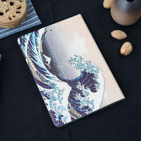 Waves Pattern Apple iPad Cover Case gallery 4