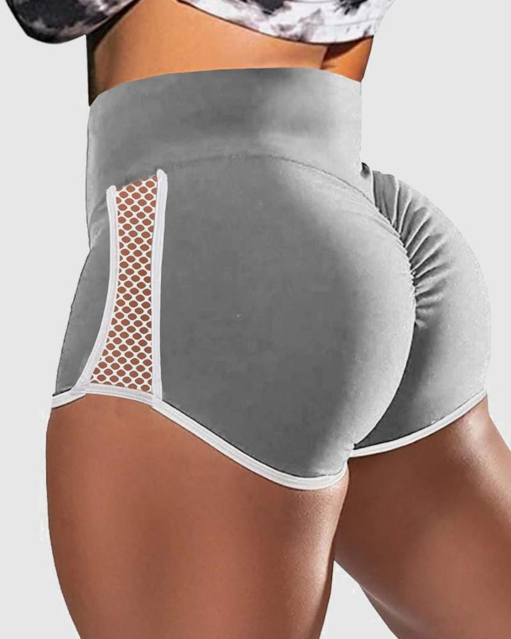 Hollow Out Side Scrunch Butt Sports Shorts gallery 7