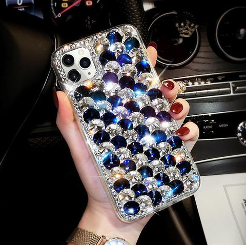 Full Rhinestone Cover Shockproof Phone Case for Samsung gallery 6