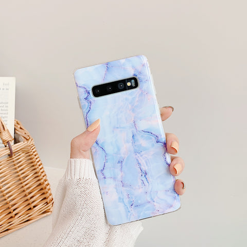 Matte Pebbled Marble Phone Case for Samsung gallery 3