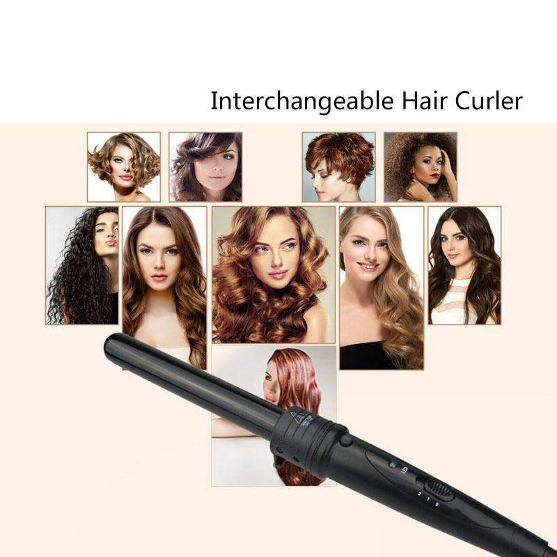 Ceramic Hair Curler Roller Straightener