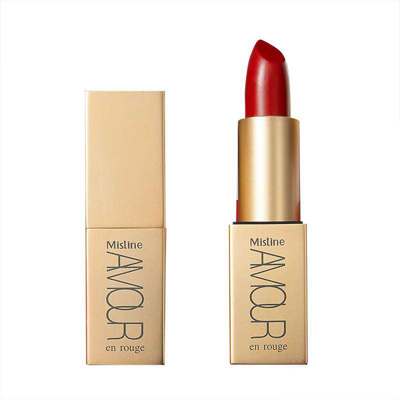 Mistine Amour - En Rouge Satin Pure Color Lipstick