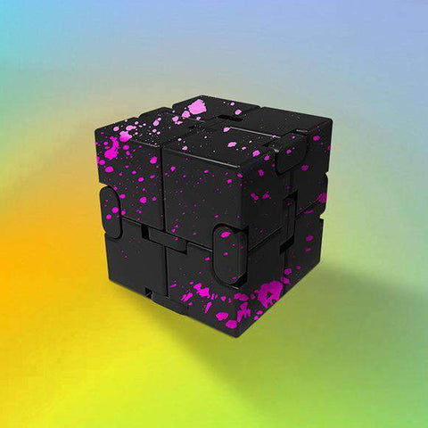 Colored Decompression Fidget Infinity Cube gallery 5