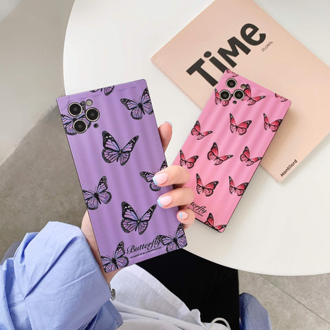 Classic Butterfly Print iPhone Case