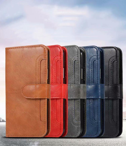 Retro Multi-functional Leather Phone Case for Samsung gallery 10