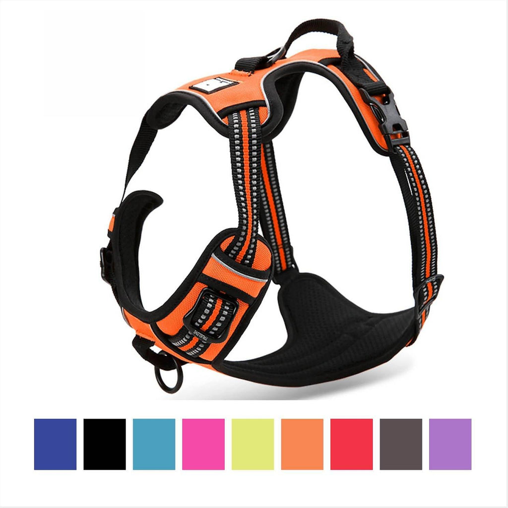 Dog Harness No-Pull Pet Harness Adjustable Outdoor & Easy Control for Small Medium Large Dogs