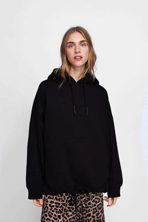 Oversize Hoodie With Pocket