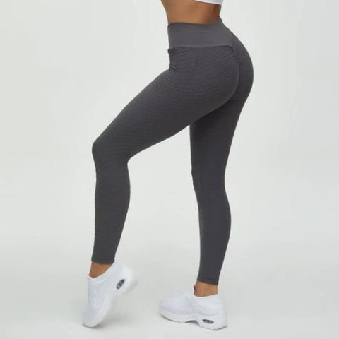 High Waist Butt Lifting Seamless Textured Leggings gallery 3