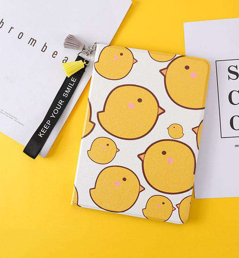 Lovely Yellow Chicken Painted Apple iPad Cover Case gallery 5
