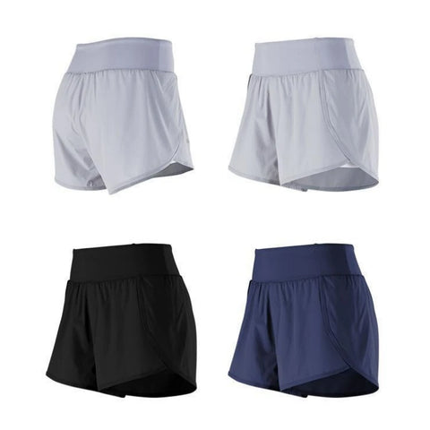 Pocket Patched Side Wide Waistband Sports Shorts gallery 17