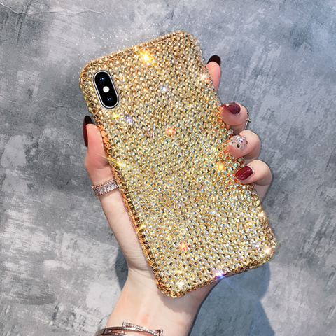 Luxury All-Over Diamante Stud Phone Case for Samsung gallery 2
