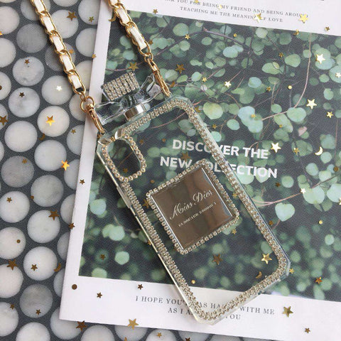 Luxury Perfume Design iPhone Case with Hand Strap gallery 6