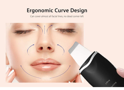 Ultrasonic Rechargeable Face Skin Scrubber Facial Cleaner gallery 6
