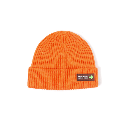 6 Colors Rib Knit Cuffed Beanie Hat With Tag gallery 9