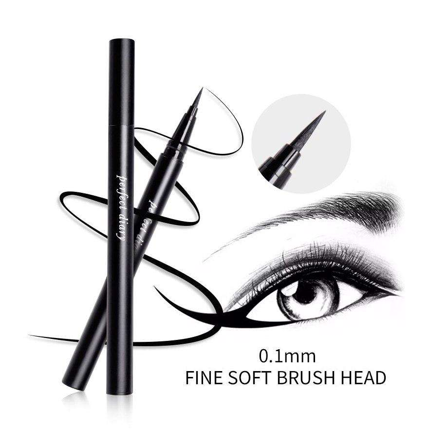 Perfect Diary - Slim & Long-Lasting Eyeliner (Waterproof)
