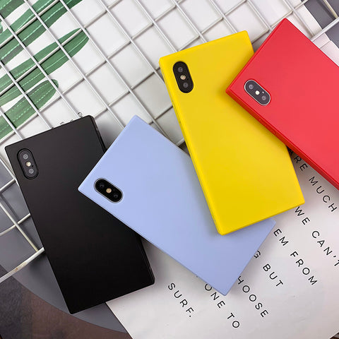 Less is More Style Pure Color Phone Case For All iPhone