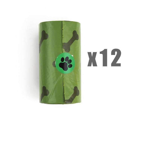 Pet Puppy Use Poop Dispenser Green Bone Shaped With Degradable Bags gallery 6