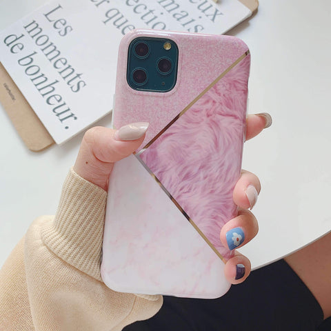 Multicolored Joint Marble Pattern Phone Case for Samsung gallery 3