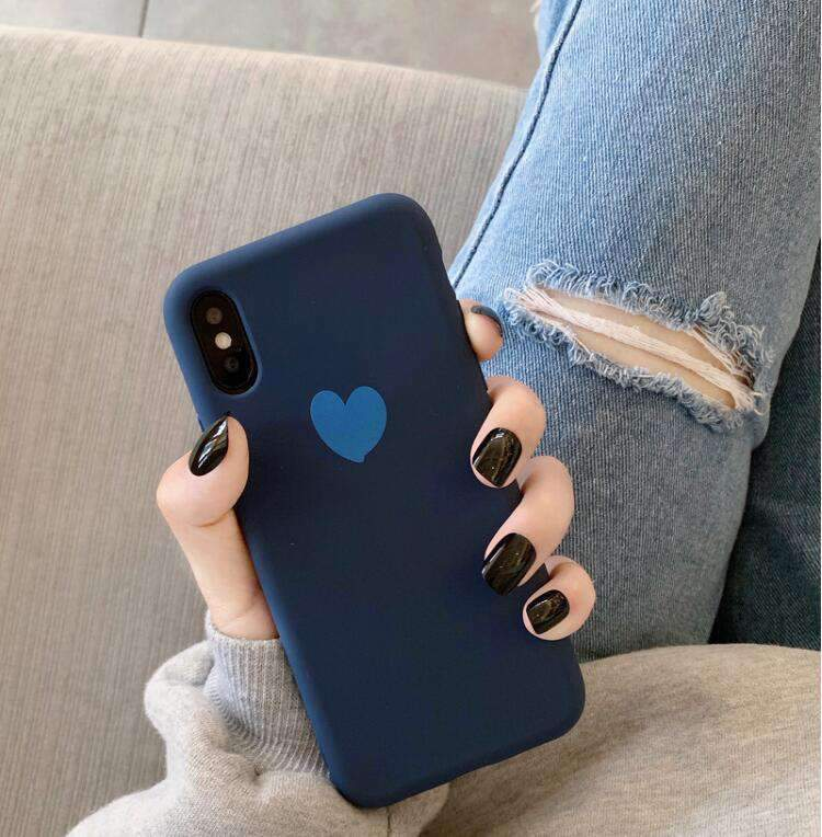 Contracted Heart Print Phone Case for Samsung