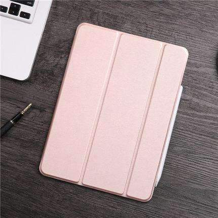 Contracted Business Style Solid Color Apple iPad Cover Case gallery 5