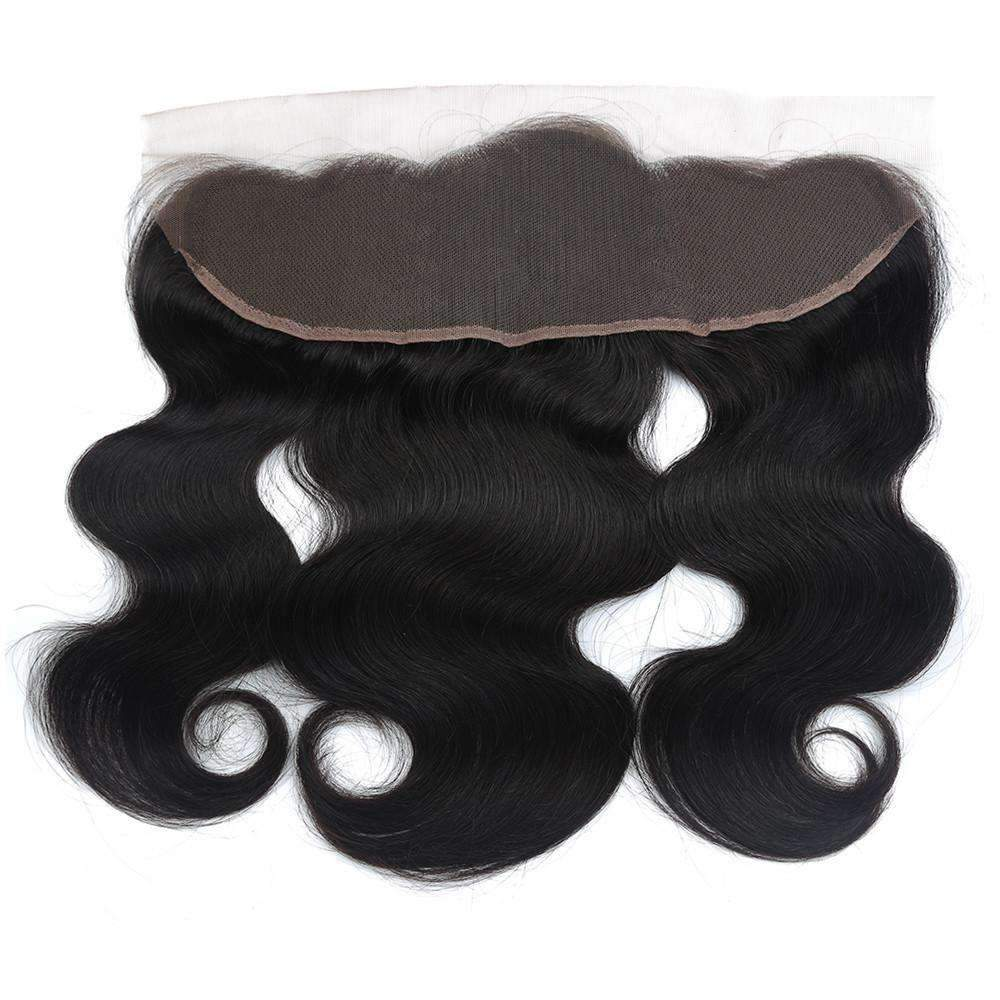 Brazilian Body Wave Human Hair with 13X4 Lace Frontal Closure