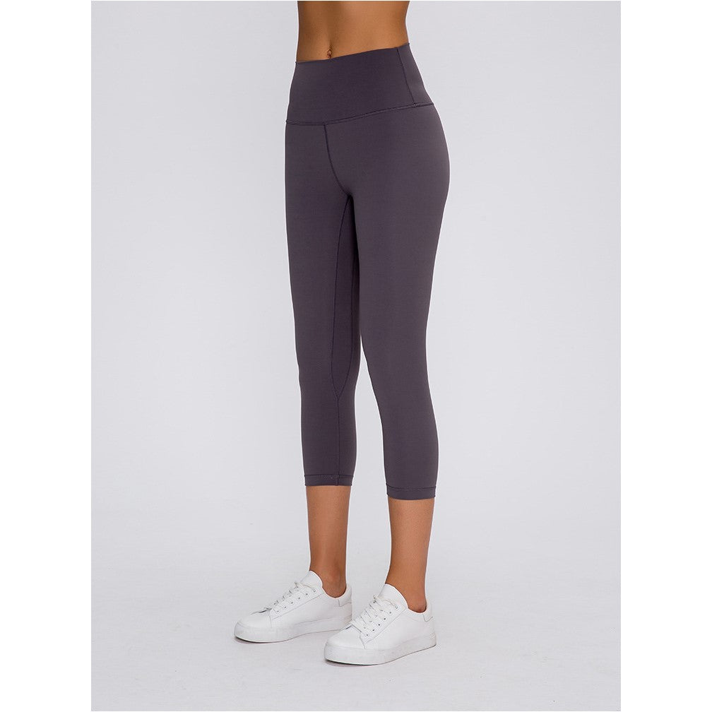 High Waist Tummy Control Capri Leggings