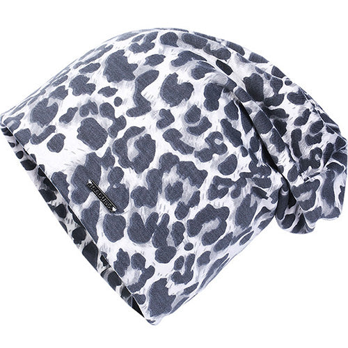 Stylish Leopard Pattern Beanie Hat